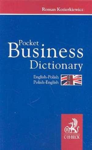 Pocket Business Dictionary English-Polish - okładka książki