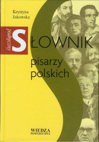 Podręczny słownik pisarzy polskich - okładka książki