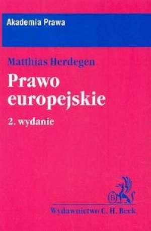 Prawo europejskie - okładka książki