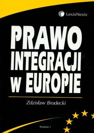 Prawo integracji w Europie - okładka książki