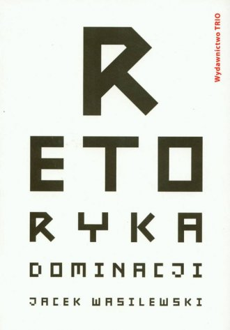 Retoryka dominacji - okładka książki