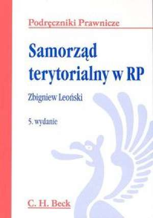 Samorząd terytorialny w RP - okładka książki