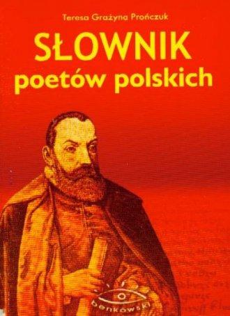 Słownik poetów polskich - okładka książki