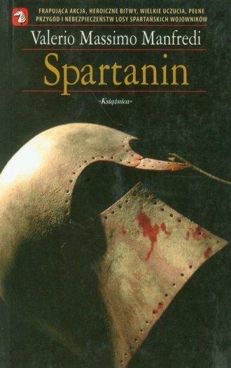 Spartanin - okładka książki
