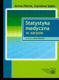 Statystyka medyczna w zarysie - okładka książki
