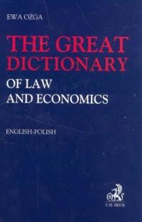 The great dictionary of law and economist - okładka książki