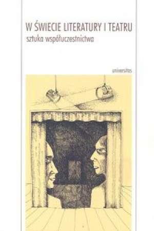 W świecie literatury i teatru. - okładka książki