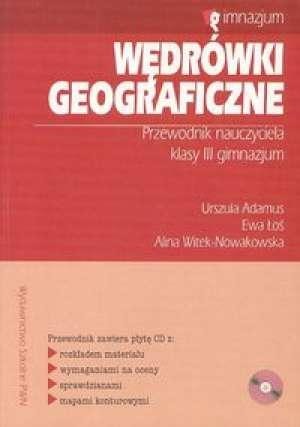 Wędrówki geograficzne 3. Przewodnik - okładka książki