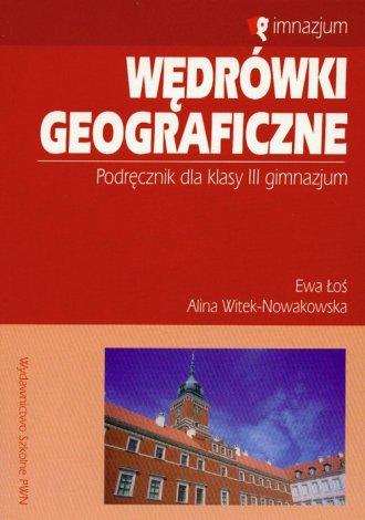 Wędrówki geograficzne. Klasa 3. - okładka podręcznika