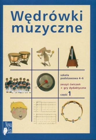 Wędrówki muzyczne. Klasa 4-6. Szkoła - okładka podręcznika