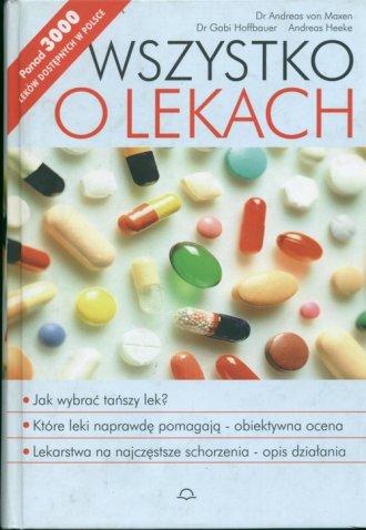 Wszystko o lekach - okładka książki