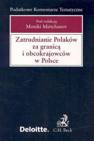 Zatrudnianie Polaków za granicą - okładka książki